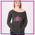 Alpha Athletics Bling Favorite Comfy Sweatshirt with Rhinestone Logo