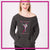Ballet Academy of Moses Lake Bling Favorite Comfy Sweatshirt with Rhinestone Logo