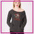 Burbank Fusion Flipstars Bling Favorite Comfy Sweatshirt with Rhinestone Logo