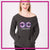 Cheer Craze Allstars Bling Favorite Comfy Sweatshirt with Rhinestone Logo