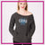 Chesapeake Elite Bling Favorite Comfy Sweatshirt with Rhinestone Logo