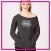 CYSC Elite Force Bling Favorite Comfy Sweatshirt with Rhinestone Logo