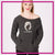Flaunt Bling Favorite Comfy Sweatshirt with Rhinestone Logo