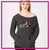Golden Elite Allstars Bling Favorite Comfy Sweatshirt with Rhinestone Logo