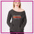 Lincoln Way West Bling Favorite Comfy Sweatshirt with Rhinestone Logo