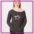 Lisa's Dance Boutique Bling Favorite Comfy Sweatshirt with Rhinestone Logo