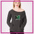Marshfield Rams Bling Favorite Comfy Sweatshirt with Rhinestone Logo