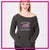Melissa Marie School of Dance Bling Favorite Comfy Sweatshirt with Rhinestone Logo