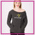 Revolution Athletics Bling Favorite Comfy Sweatshirt with Rhinestone Logo