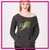 Steppin' Out Dance Center Bling Favorite Comfy Sweatshirt with Rhinestone Logo