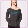 NYTBC Bling Favorite Comfy Sweatshirt with Rhinestone Logo