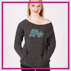 Lightning Allstars Bling Favorite Comfy Sweatshirt with Rhinestone Logo