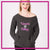 Wauconda Bulldogs Bling Favorite Comfy Sweatshirt with Rhinestone Logo