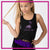 716 Dance Lab Bling Festival Tank with Rhinestone Logo