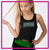 Action Athletics Bling Festival Tank with Rhinestone Logo