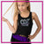 CDX Elite Cheer Festival Tank with Rhinestone Logo