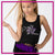 All Star Xtreme Bling Festival Tank with Rhinestone Logo