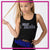 Allstar Athletics Bling Festival Tank with Rhinestone Logo