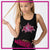 Alpha Athletics Bling Festival Tank with Rhinestone Logo