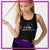 Caledonia Dance and Music Center Bling Festival Tank with Rhinestone Logo