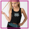 CYSC Elite Force Bling Festival Tank with Rhinestone Logo