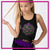 Ever After Dance Academy Bling Festival Tank with Rhinestone Logo