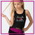 Extreme Kids Dance Academy Bling Festival Tank with Rhinestone Logo