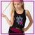 Fear the Bow Bling Festival Tank with Rhinestone Logo