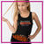 Lincoln Way West Bling Festival Tank with Rhinestone Logo