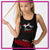 Lisa's Dance Boutique Bling Festival Tank with Rhinestone Logo