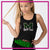 MHS Dance Team Bling Festival Tank with Rhinestone Logo