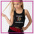 Red Jacket Indians Bling Festival Tank with Rhinestone Logo