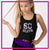 Southern Coast Elite Bling Festival Tank with Rhinestone Logo