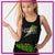 Steppin' Out Dance Center Bling Festival Tank with Rhinestone Logo