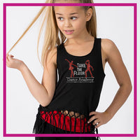 Take the Floor Dance Academy Bling Festival Tank with Rhinestone Logo