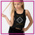 The F.I.R.M. Dance Company Bling Festival Tank with Rhinestone Logo