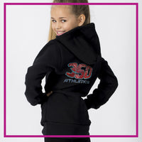 FITTED-HOODIE-BACK-360-athletics-gliteerstarz-custom-bling-rhinestone-fitted-hoodie