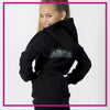 FITTED-HOODIE-BACK-ACTION-gliteerstarz-custom-bling-rhinestone-fitted-hoodie