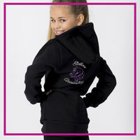 FITTED-HOODIE-BACK-alex-bay-stallions-gliteerstarz-custom-bling-rhinestone-fitted-hoodie