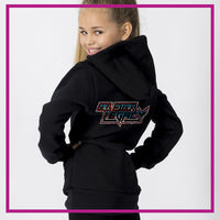 All Star Legacy Fitted Hoodie with Rhinestone Logo