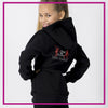 Take the Floor Dance Academy Relaxed Hoodie with Rhinestone Logo