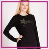 FITTED-LONGSLEEVEBASIC-Hot-Topic-GlitterStarz-Custom-Rhinestone-Apparel-for-Cheerleading-and-Dance