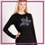 Revolutions All Stars Long Sleeve Bling Shirt with Rhinestone Logo