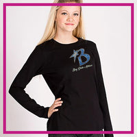 FITTED-LONGSLEEVEBASIC-bay-state-GlitterStarz-Custom-Rhinestone-Apparel-for-Cheerleading-and-Dance