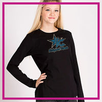 FITTED-LONGSLEEVEBASIC-kidsport-GlitterStarz-Custom-Rhinestone-Apparel-for-Cheerleading-and-Dance