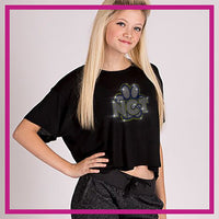 FLOWY-CROP-North-Collinwood-Thundercats-GlitterStarz-Custom-Rhinestone-Apparel-and-Shirts-for-Cheerleading-Trendy