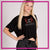 Take the Floor Dance Academy Bling Crop Top with Rhinestone Logo