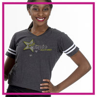 FOOTBALLTshirt-Hot-Topic-GlitterStarz-Custom-Bling-Team-Rhinestone-Tshirts