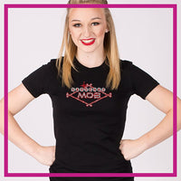 Fitted-Short-Sleeve-Tshirt-MOB-GlitterStarz-Custom-Rhinestone-Bling-Apparel-for-Cheer-and-Dance