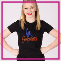 Fitted-Tshirt-aa-stagg-orchesis-GlitterStarz-Custom-Rhinestone-Bling-Apparel-for-Cheer-and-Dance